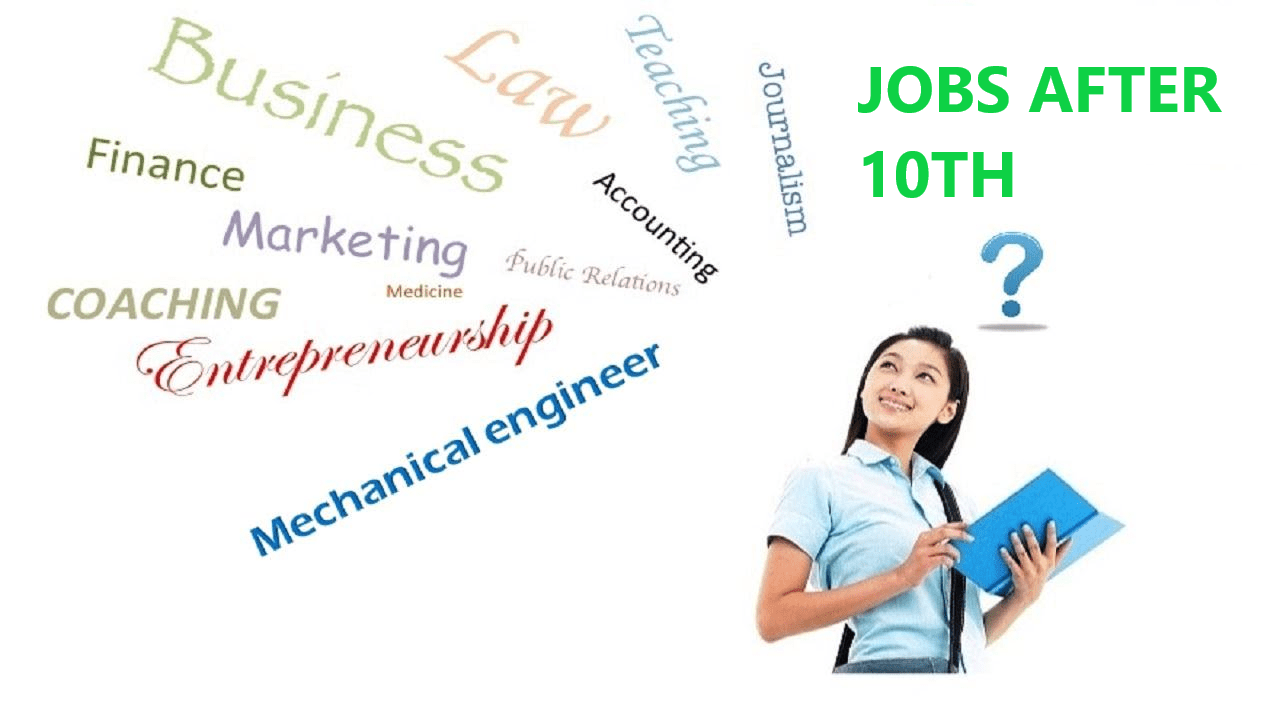 Jobs After Class 10th - Best Jobs For Class 10th Goverment And Private