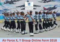 India Air Force X Y 2018