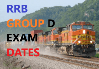 RRB Group D Exam Dates 2018