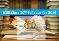 ICSE CLASS 10th Syllabus